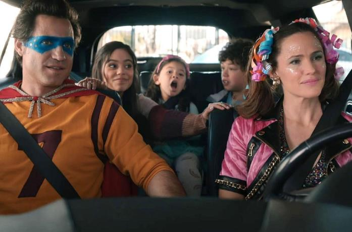 Una scena del film Yes Day con Jennifer Garner