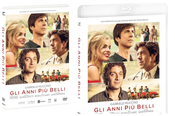 Le copertine del DVD e del Blu-ray de Gli Anni Più Belli