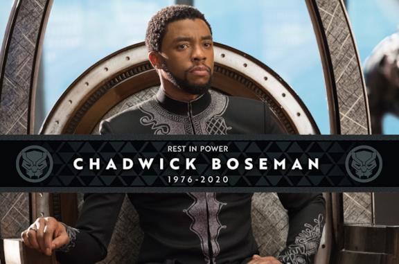 Chadwick Boseman omaggiato dalle fascette Marvel Comics