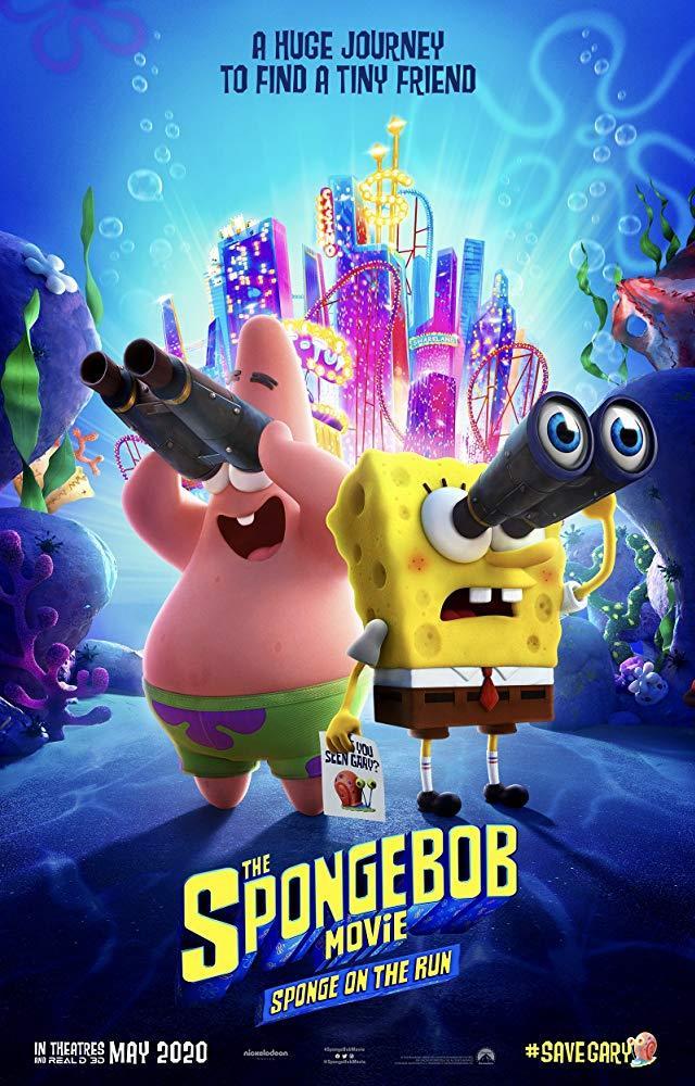 La locandina del nuovo film su SpongeBob