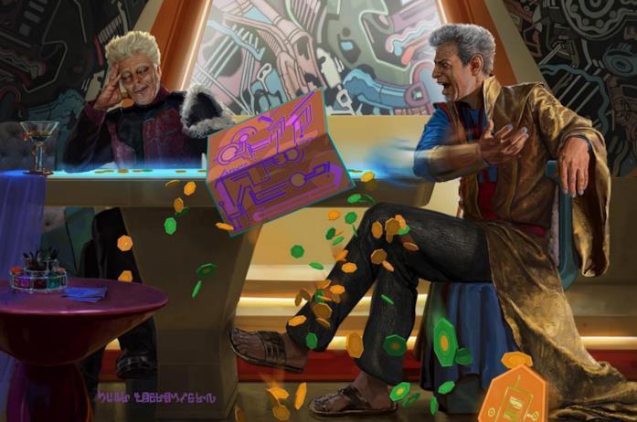 Concept art per Guardians of the Galaxy: Mission Breakout, attrazione Disney al California Adventure