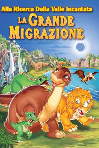 Poster Alla ricerca della valle incantata 10 - La grande migrazione