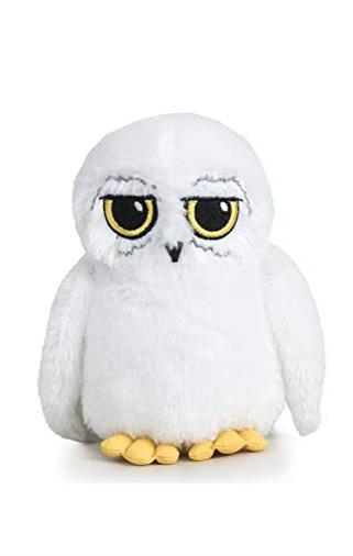 "Harry Potter - Peluche Edvige 6'70""/17cm, Gufo Bianco di Harry qualità Super Soft"