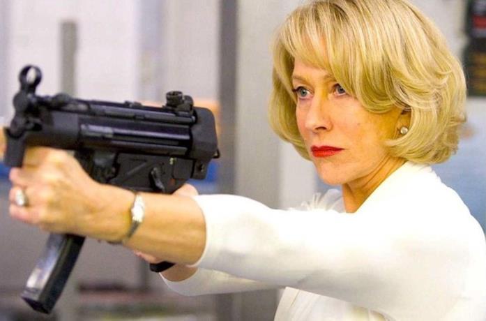 Un'immagine di Helen Mirren in Red