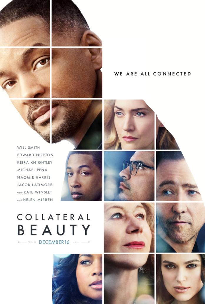 Collateral Beauty la locandina originale del film