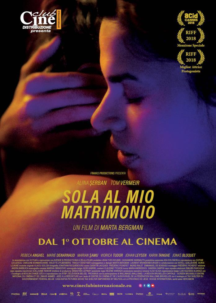 Sola al mio matrimonio - poster del film