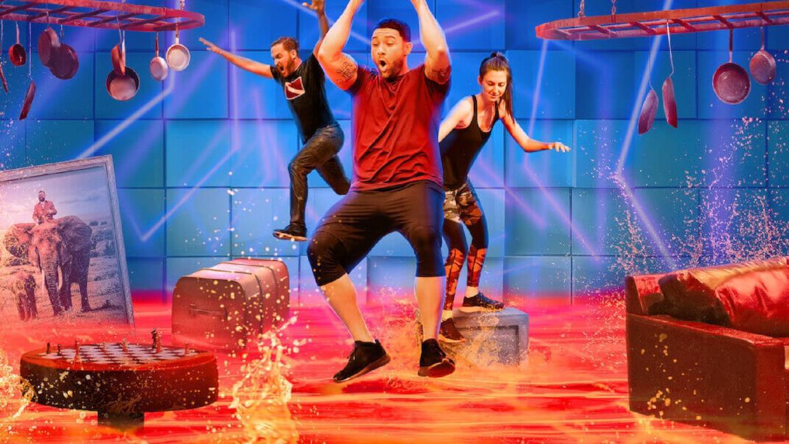 Le cadute più divertenti di Floor is Lava, lo show di Netflix