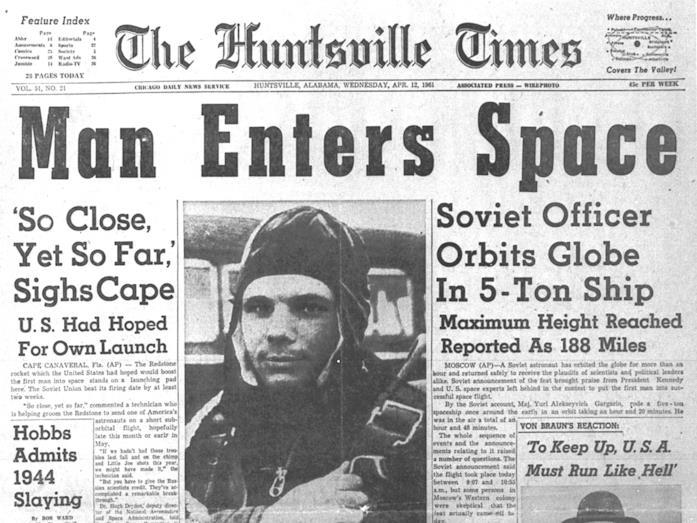 L'impresa di Yuri Gagarin