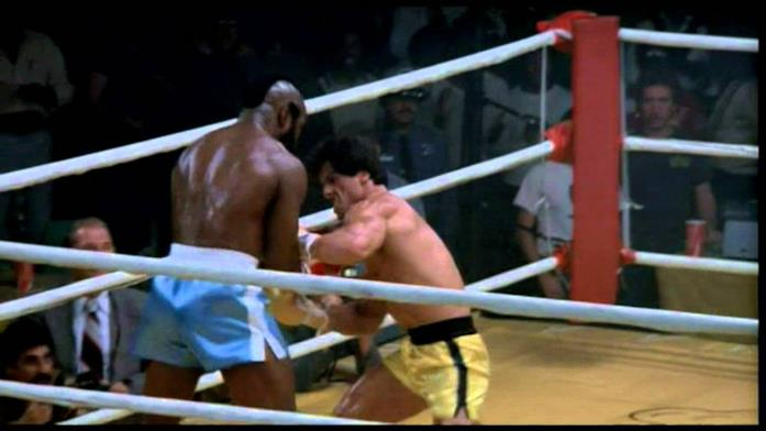 Clubber Lang contro Rocky Balboa in Rocky III