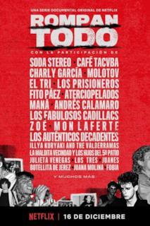 Poster Rompan Todo: la storia del rock in America Latina