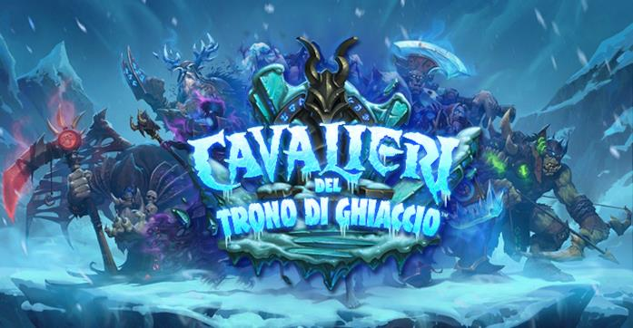 Blizzard lancia oggi Hearthstone: Cavalieri del Trono di Ghiaccio