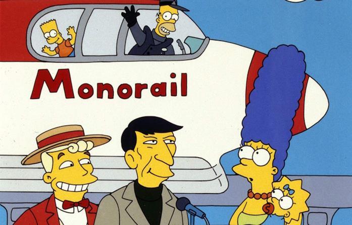 Una scena dall'episodio Marge contro la monorotaia