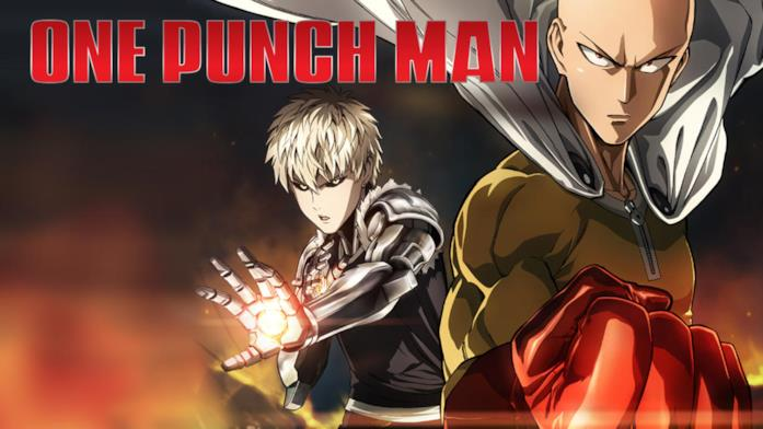 Saitama e Genos di One-punch Man