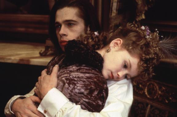 Una scena di Intervista col vampiro, film del 1994