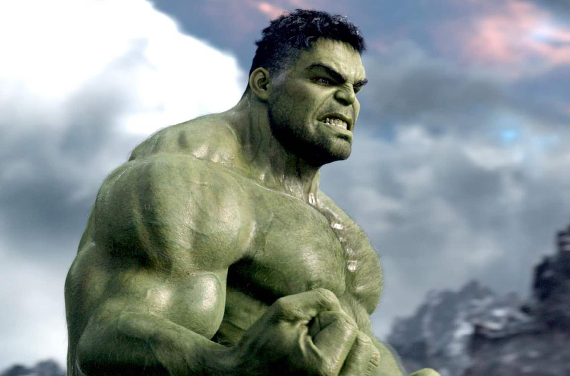 Un'immagine di Hulk in Avengers: Endgame
