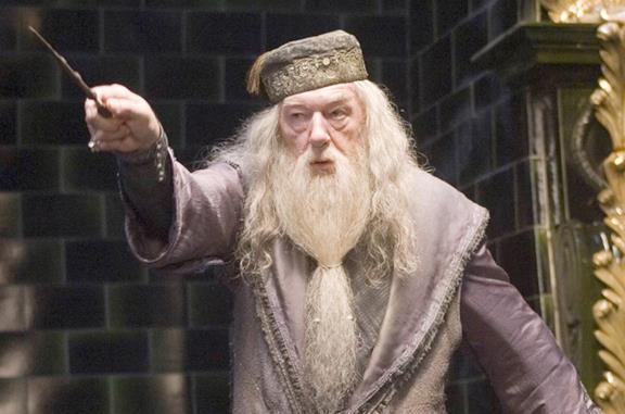 Michael Gambon è Albus Silente in Harry Potter