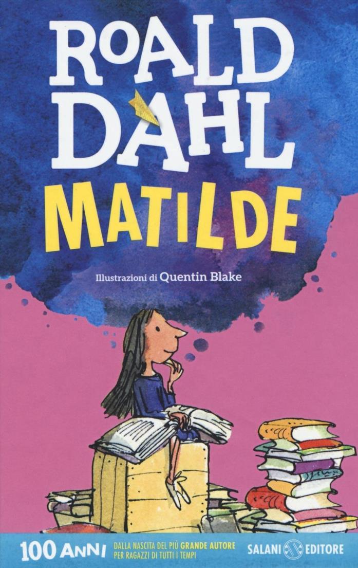 La copertina di Matilde