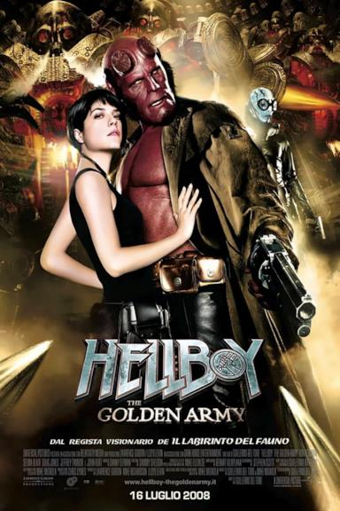Poster Hellboy - The Golden Army