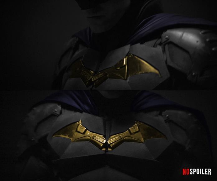 I possibili colori del costume di Bruce Wayne in The Batman