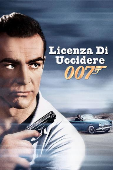 Poster Agente 007 - Licenza di uccidere
