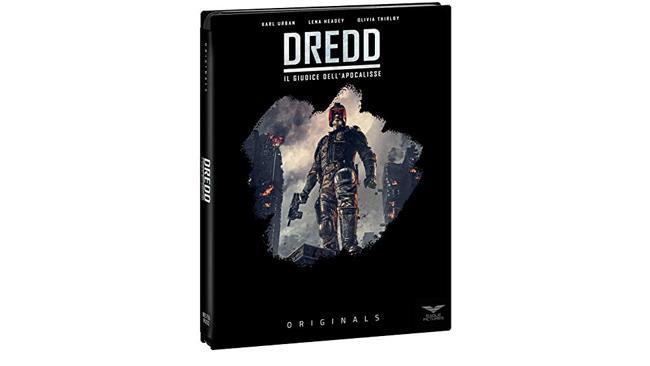 Dredd - Il giudice dell'Apocalisse - il film in formato Combo (Blu-ray e DVD)