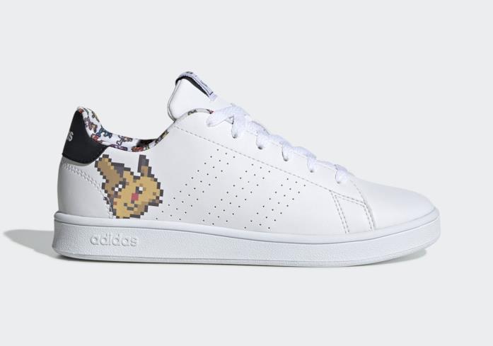 Tropezón detalles Neuropatía  Adidas Pokémon: in arrivo la sneaker Pikachu in versione pixel art