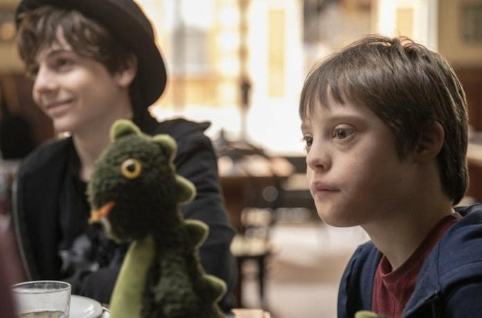 Giacomo e Giovanni nel film Mio fratello rincorre i dinosauri
