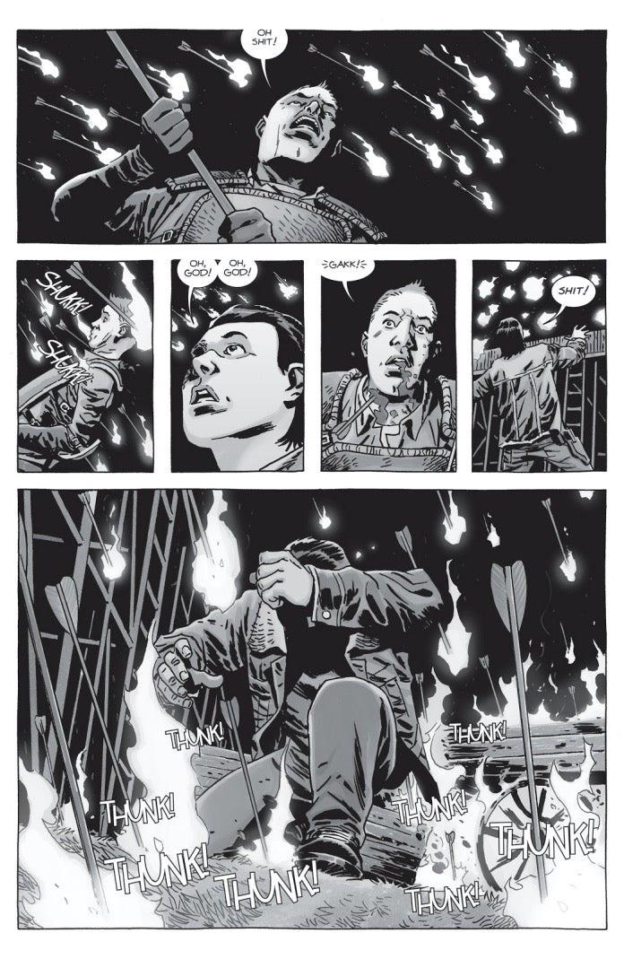La Guerra dei Sussurratori nei fumetti di The Walking Dead