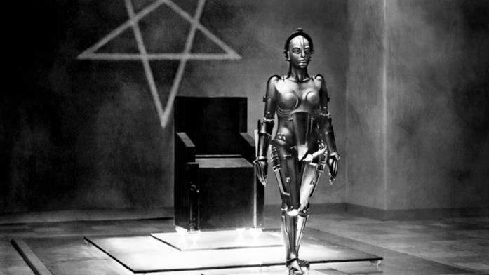 Una scena del film Metropolis