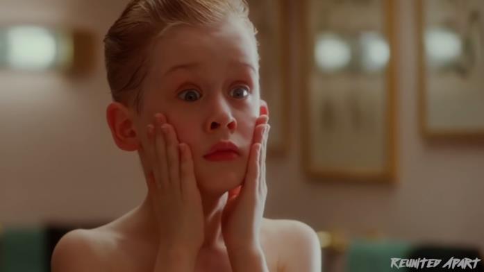Macaulay Culkin da bambino
