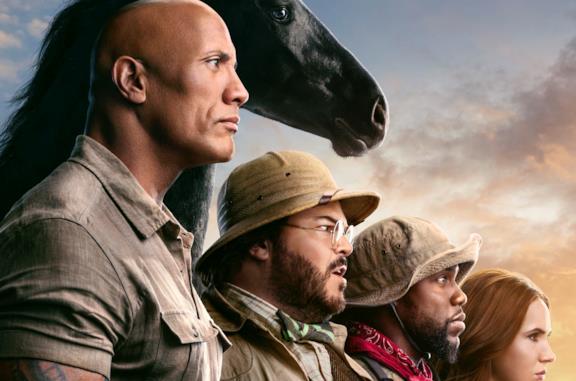 Il gruppo di eroi del nuovo corso cinematografico di Jumanji