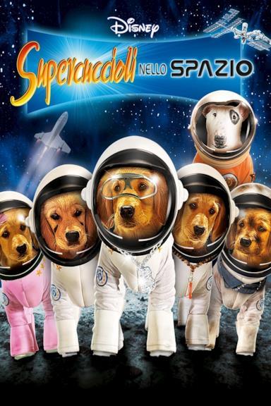Poster Supercuccioli nello spazio