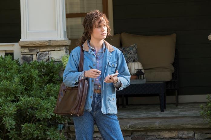 Brie Larson in una scena del film Il diritto di opporsi