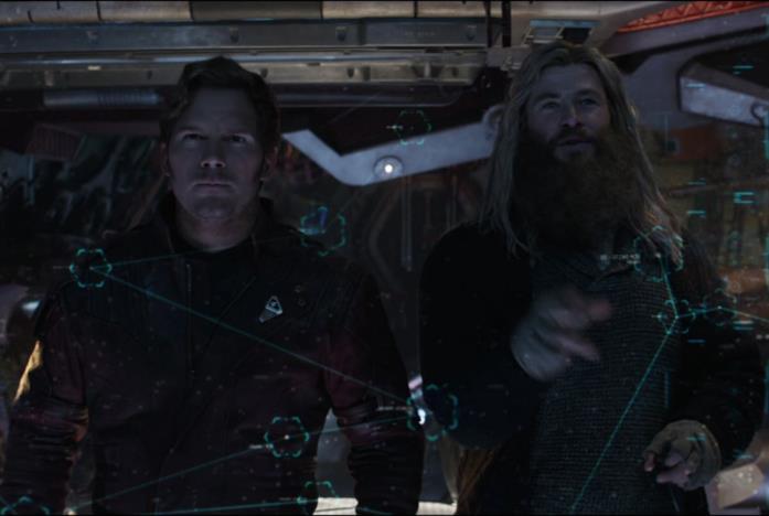 Star-Lord e Thor