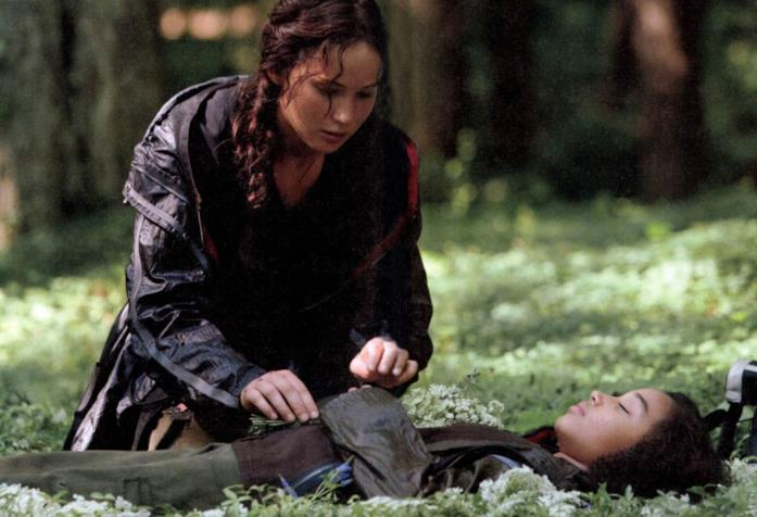 Scena tratta da Hunger Games