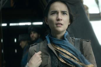 Jessie Mei Li nel primo episodio di Tenebre e Ossa