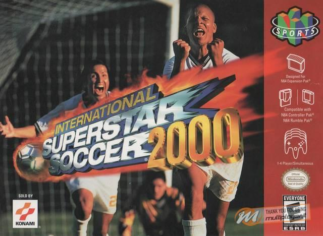 International Superstar Soccer 2000 portò il calcio arcade su N64