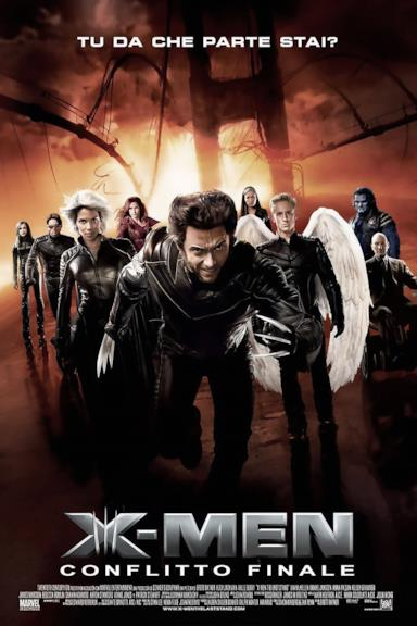 Poster X-Men - Conflitto finale