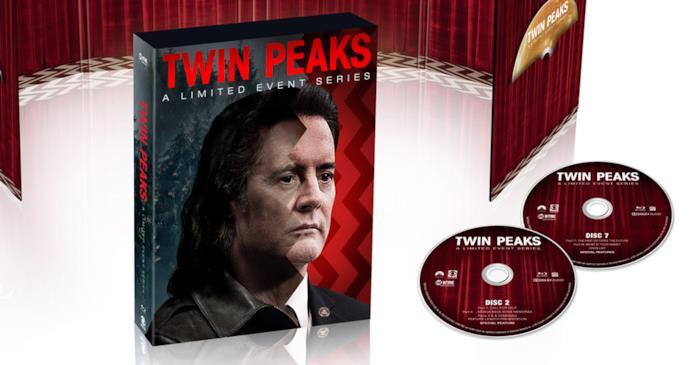 Set in tiratura limitata della terza stagione di Twin Peaks