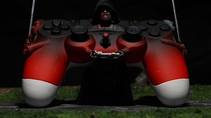 Il controller per PlayStation 4 di Star Wars