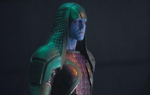 Lee Pace nei panni di Ronan l'Accusatore in Captain Marvel