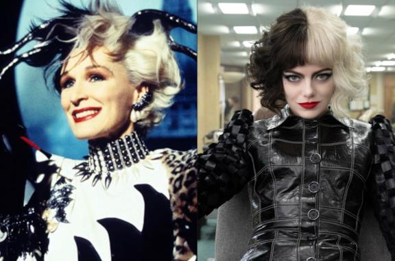 Come è cambiata Crudelia Demon? Somiglianze e differenze tra le versioni di Glenn Close ed Emma Stone