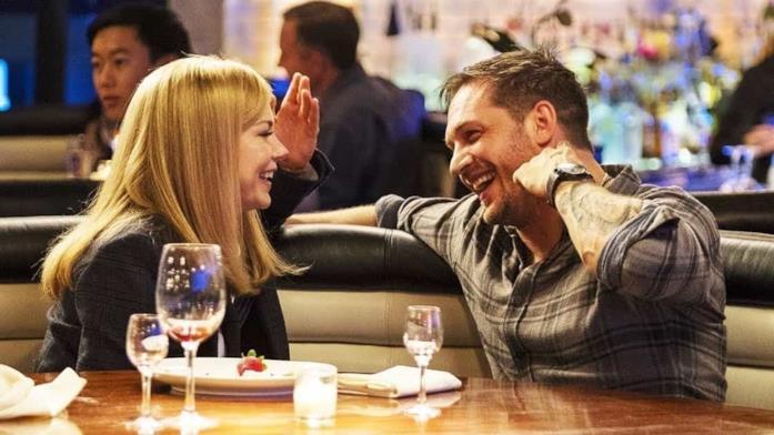 Eddie e Anne vanno a cena insieme all'inizio del primo Venom