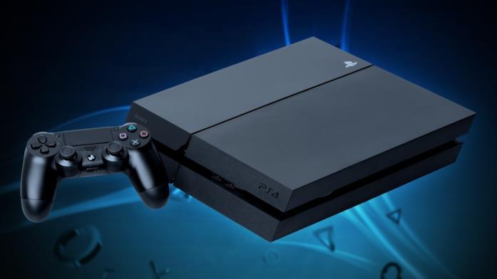 Il primo modello di PS4 in un'immagine promozionale di Sony