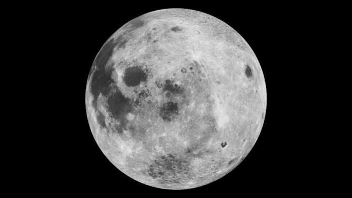 Una foto della Luna