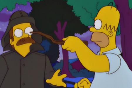 Ned Flanders vuole vendicarsi dei Simpson