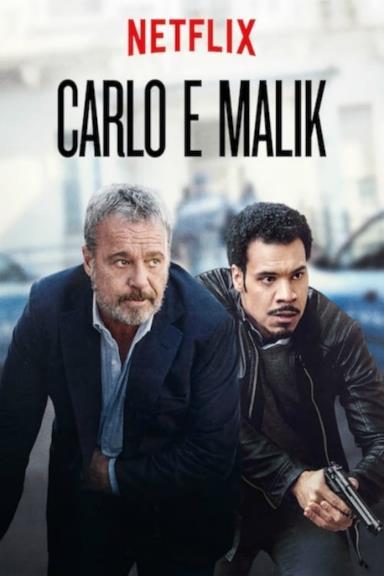 Poster Nero a metà