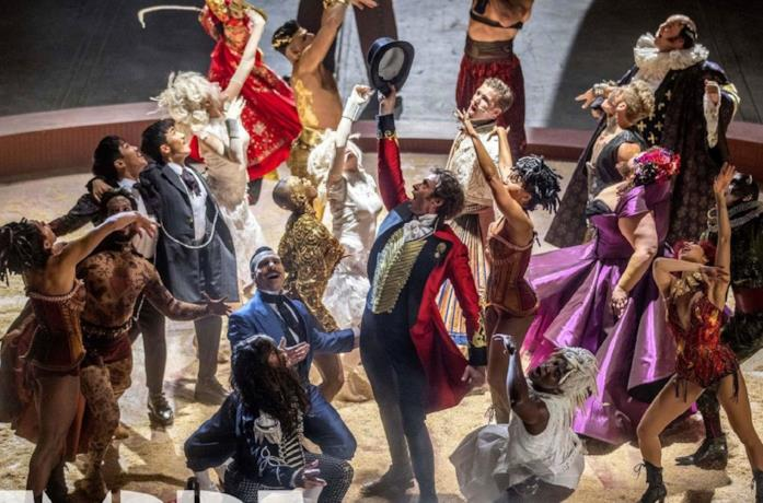 Uno dei numeri di The Greatest Showman