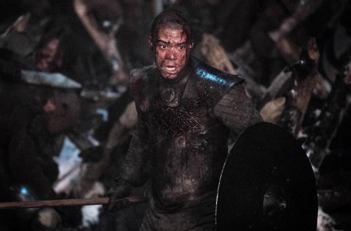 Verme Grigio durante la battaglia di Grande Inverno