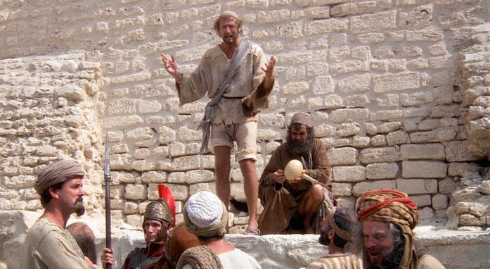 Una scena da Brian di Nazareth